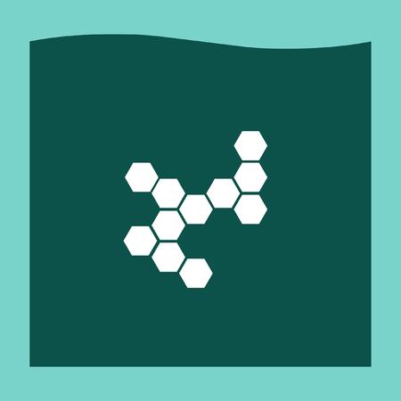vector  molecular: Molecular structure icon vector, Molecular structure icon eps10, Molecular structure icon picture, Molecular structure icon flat, Molecular structure icon, Molecular structure web icon,