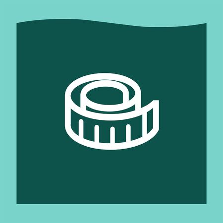 cintas metricas: Measure tape icon vector, Measure tape icon eps10, Measure tape icon picture, Measure tape icon flat, Measure tape icon, Measure tape web icon, Vectores