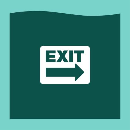emergency exit label: Exit sign icon vector, Exit sign icon eps10, Exit sign icon picture, Exit sign icon flat, Exit sign icon, Exit sign web icon, Illustration