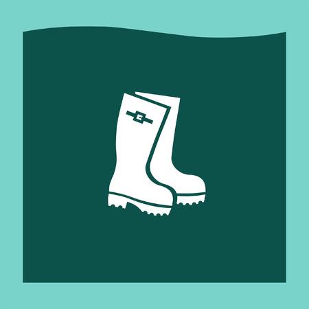 gumboots: Rain boot icon vector, Rain boot icon eps10, Rain boot icon picture, Rain boot icon flat, Rain boot icon, Rain boot web icon,
