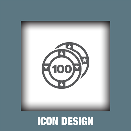 chances: Casino coins icon vector, Casino coins icon eps10, Casino coins icon picture, Casino coins icon flat, Casino coins icon, Casino coins web icon,
