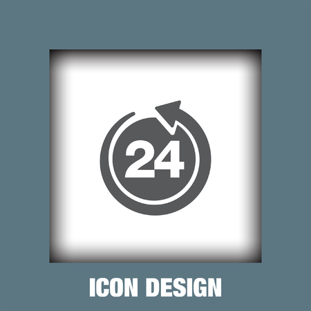 24 hour: Open 24 hour icon vector, Open 24 hour icon eps10, Open 24 hour icon picture, Open 24 hour icon flat, Open 24 hour icon, Open 24 hour web icon,