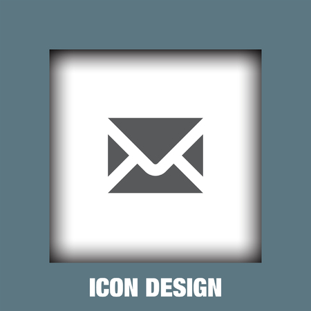 by mail: Mail icon vector, Mail icon eps10, Mail icon picture, Mail icon flat, Mail icon, Mail web icon, Illustration