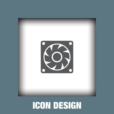 cooling: Computer cooling fan icon vector, Computer cooling fan icon eps10, Computer cooling fan icon picture, Computer cooling fan icon flat, Computer cooling fan icon, Computer cooling fan web icon,