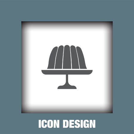 gelatin: Pudding jelly icon vector, Pudding jelly icon eps10, Pudding jelly icon picture, Pudding jelly icon flat, Pudding jelly icon, Pudding jelly web icon,