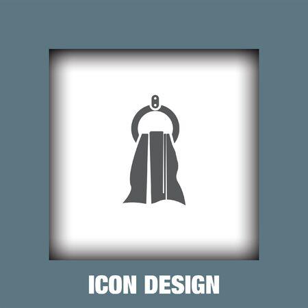 wiping: Towel icon vector, Towel icon eps10, Towel icon picture, Towel icon flat, Towel icon, Towel web icon, Illustration