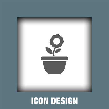 saplings: Flower plant icon vector, Flower plant icon eps10, Flower plant icon picture, Flower plant icon flat, Flower plant icon, Flower plant web icon,