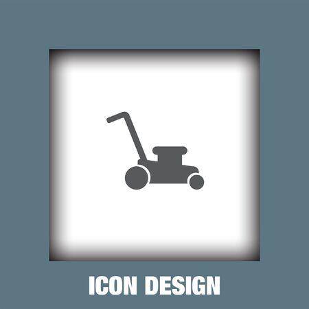 garden maintenance: Mower icon vector, Mower icon eps10, Mower icon picture, Mower icon flat, Mower icon, Mower web icon,