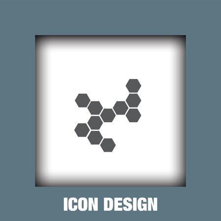structure: Molecular structure icon vector, Molecular structure icon eps10, Molecular structure icon picture, Molecular structure icon flat, Molecular structure icon, Molecular structure web icon,
