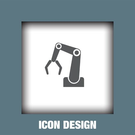 industry: Industry robot icon vector, Industry robot icon eps10, Industry robot icon picture, Industry robot icon flat, Industry robot icon, Industry robot web icon,