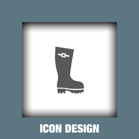 galoshes: Rain boot icon vector, Rain boot icon eps10, Rain boot icon picture, Rain boot icon flat, Rain boot icon, Rain boot web icon,