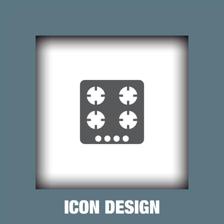 burners: Gas stove icon vector, Gas stove icon eps10, Gas stove icon picture, Gas stove icon flat, Gas stove icon, Gas stove web icon, Illustration
