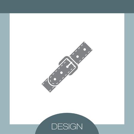 strap: Strap vector icon