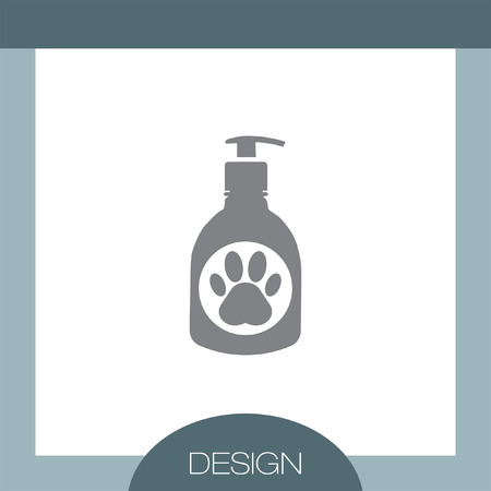 doggies: Pet Shampoo vector icon