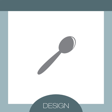 tablespoon: Spoon vector icon