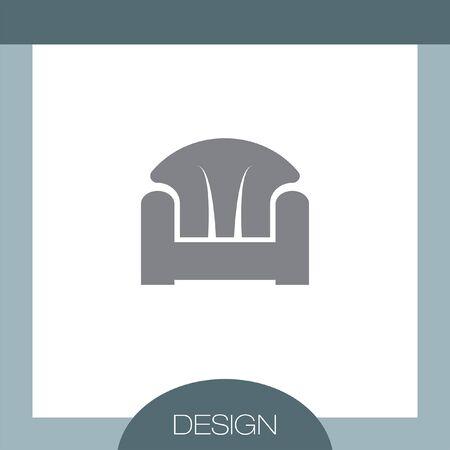 sofa: Sofa vector icon