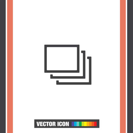 layers: Layers sign vector icon