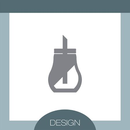 dispenser: Sugar Dispenser vector icon
