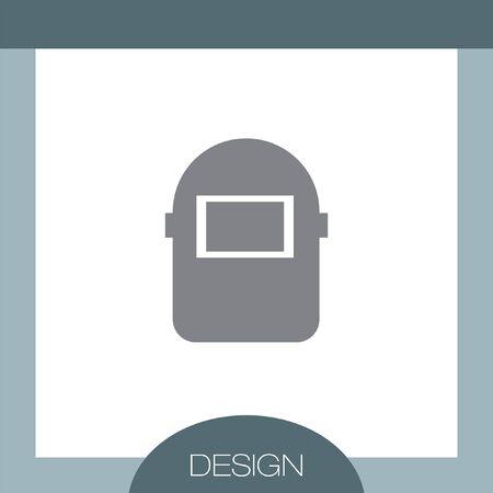 welding mask: Welding Mask vector icon