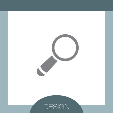 magnification: Magnifying Glass vector icon