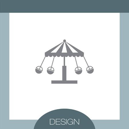 merry go round: Merry Go Round vector icon
