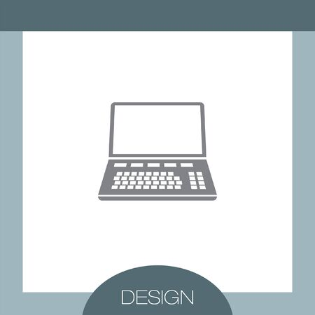 lap top: Lap Top vector icon Illustration