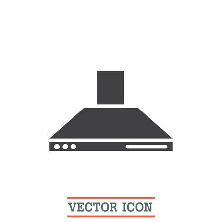 Incroyable Kitchen Hood Vector Icon. Cookin Equipment Sing. Air Extractor Symbol Stock  Vector   59263508