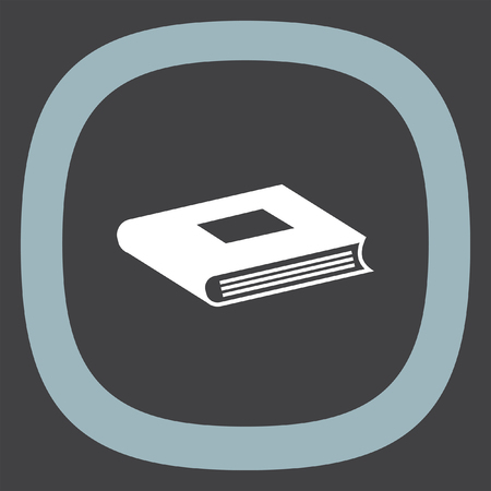 publishes: Book vector icon. Education symbol.