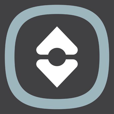 Sort vector icon. Alling sign. Arrange symbol