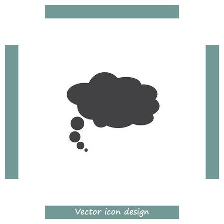 speech ballons: Speech bubble icon. Idea ballons sign. Dialog symbol Illustration