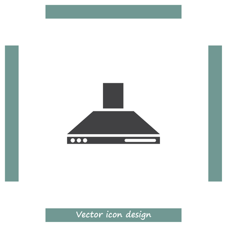 Kitchen Hood Vector Icon. Cookin Equipment Sing. Air Extractor Symbol Stock  Vector   59991452
