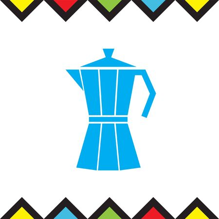 Coffee Maker vector icon. Vacuum flask symbol. Espresso sign.