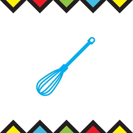 Kitchen mixer vector icon. Beater sign. Kitchen equipment tool symbol