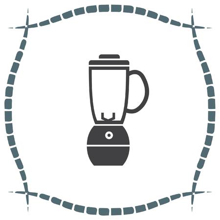 blender: Blender vector icon. Kitchen juice mixer. Fruit juice blender sign.