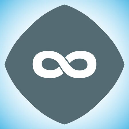 infinity sign: Infinity sign vector icon. Endless sign icon. Illustration