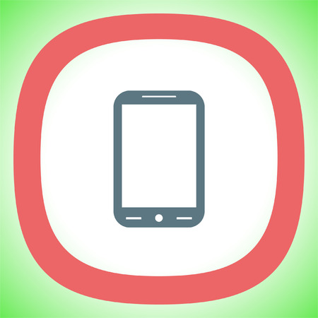 smart phone: Smart Phone vector icon. Cell phone symbol.