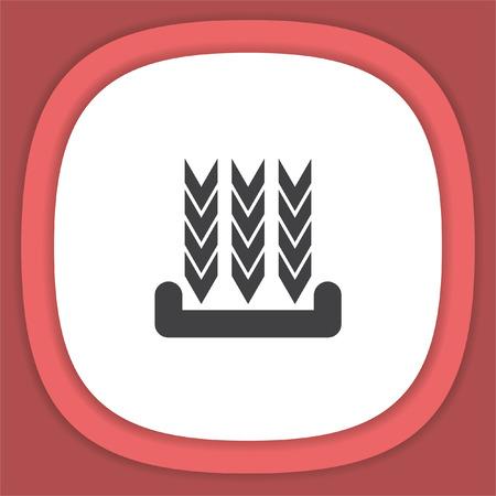 Download line vector icon