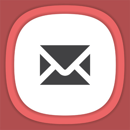 Mail vector icon. Envelope or Email message symbol.