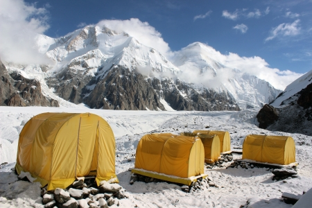 Khan Tengri Base Camp