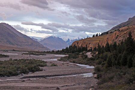tien shan: Kyrgyzstan - Central Tien Shan region