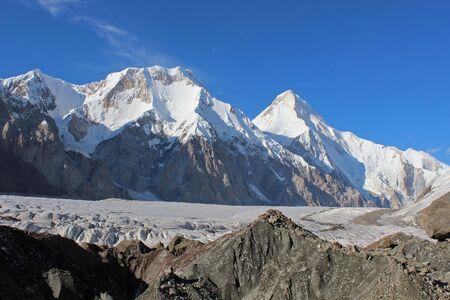 khan: Kyrgyzstan - Central Tien Shan region, Khan Tengri Stock Photo