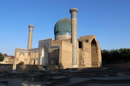 mediaval: Uzbekistan - Samarkand Stock Photo