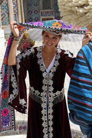 uzbek: Uzbek Girl in Samarkand