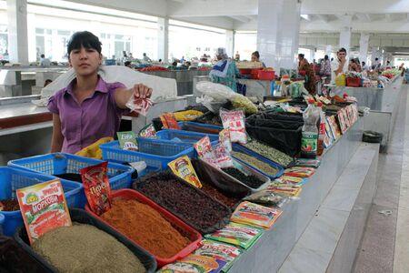 samarkand: Samarkand bazaar