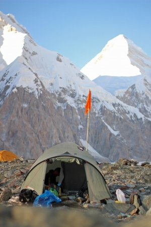 Pobeda Peak and Khan Tengri base camp Editorial