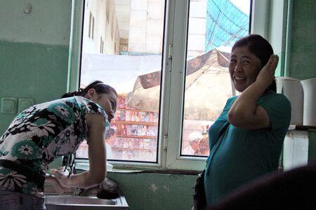 kyrgyzstan: Bazaar en Bishkek, Kirguist?n