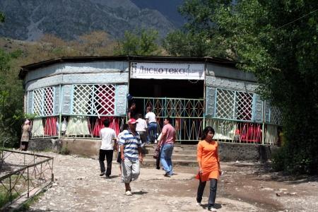kyrgyzstan: Disco en Arslanbob, Kirguist�n Editorial