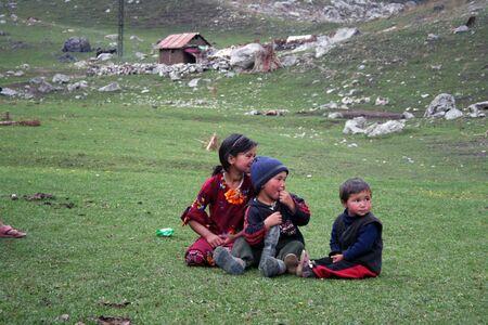 uzbek: Uzbek children in Arslanbob, Kyrgystan