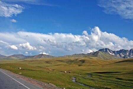 tien shan: Tien Shan mountains, Kyrgyzstan