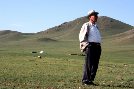 Typical Mongolian Landscape